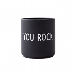 PORCELÁNOVÝ HRNEK DESIGN LETTERS / YOU ROCK