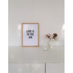 MINIMALISTICKÝ PLAKÁT LOVE IS / A4