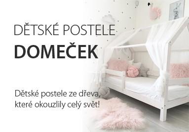 Dětské postele domeček